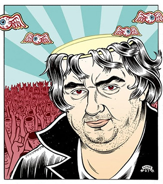The Devil and Daniel Johnston - Poster Art