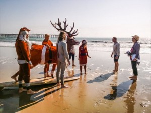 Nokia - Surfing Santas