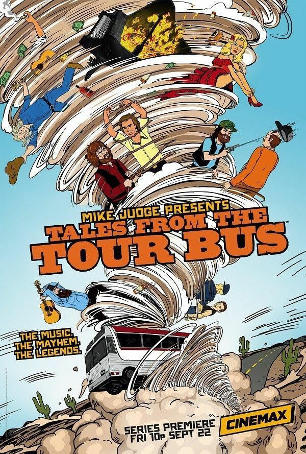 Jeff Feuerzeig - Mike Judge Presents Tales from the Tourbus